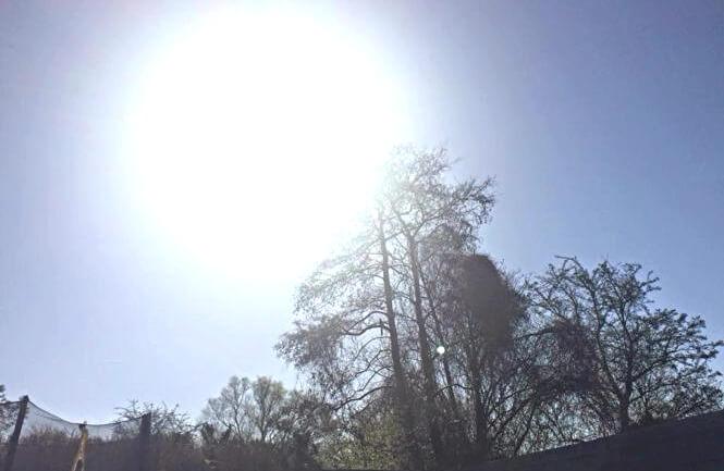 De zon geeft mij energie