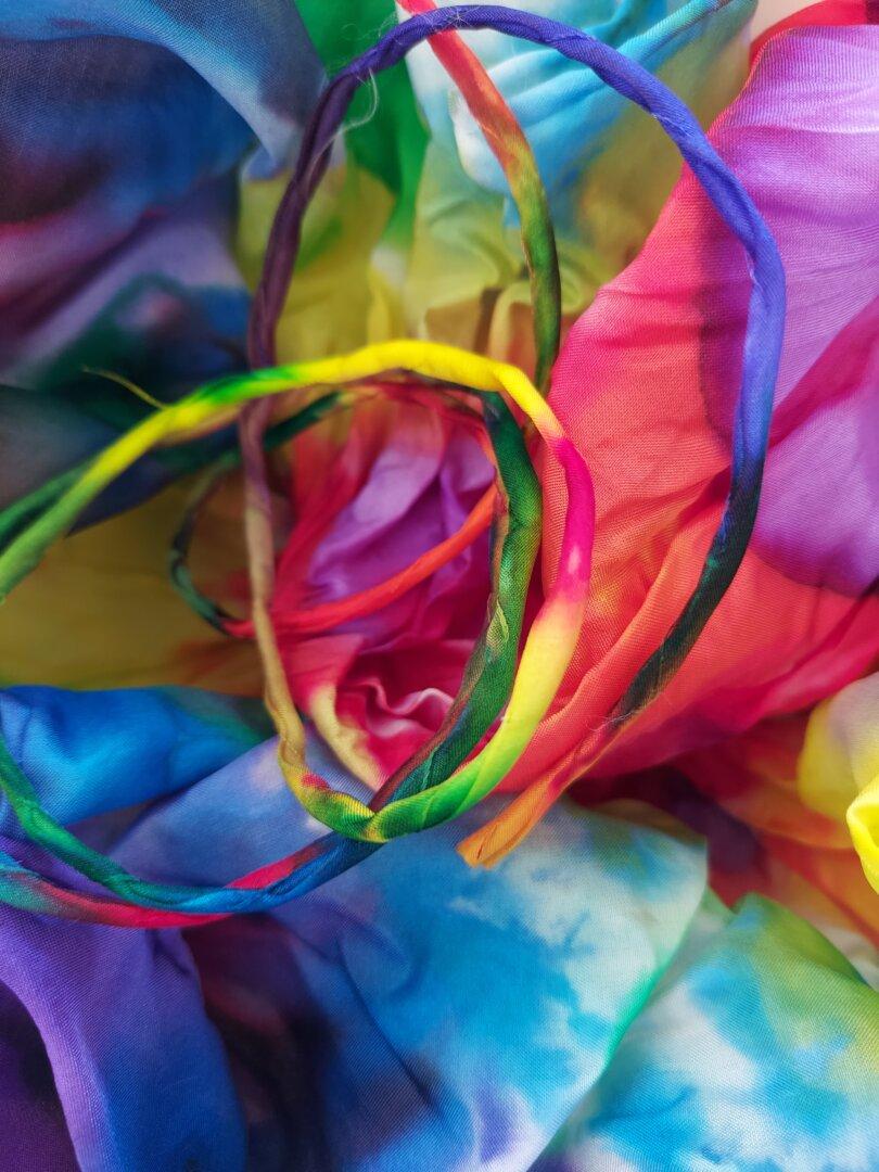 kracht van kleur regenboog