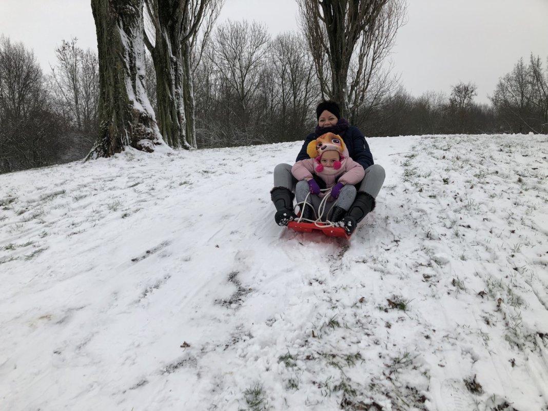 Eindelijk sneeuw