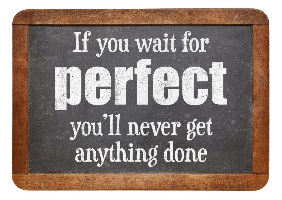 Perfect bestaat niet