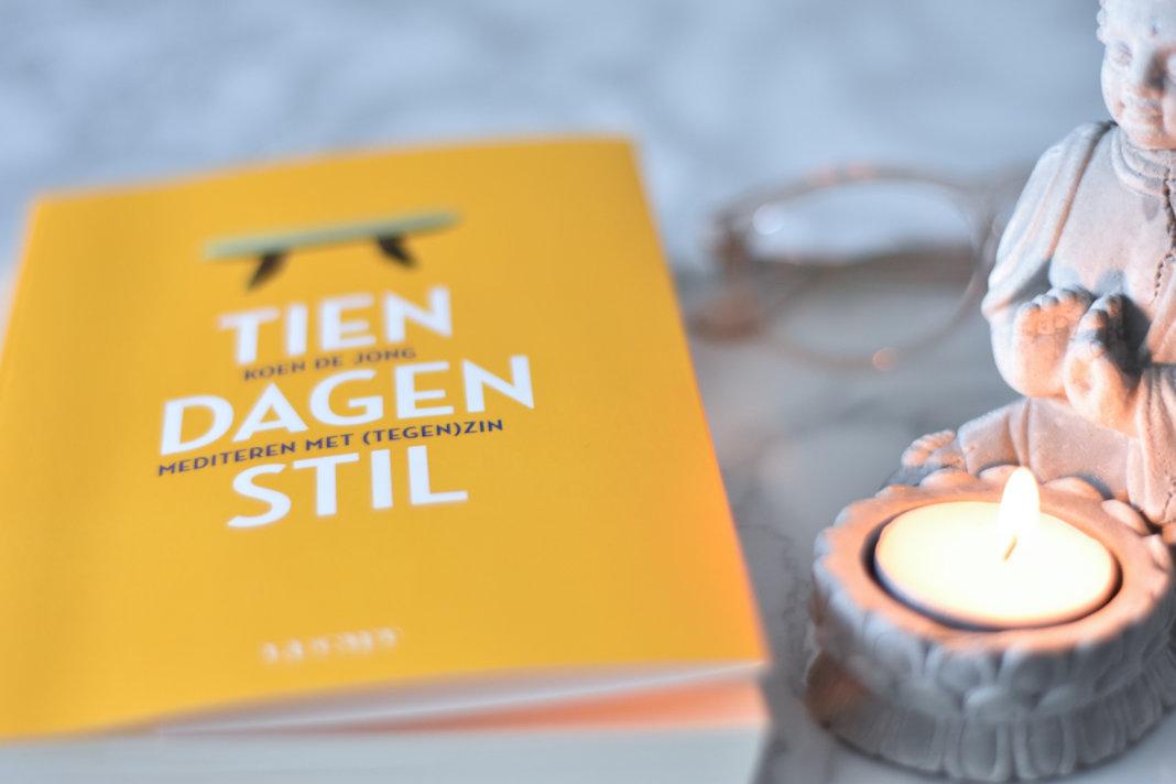 Tien dagen stil van Koen de Jong zen