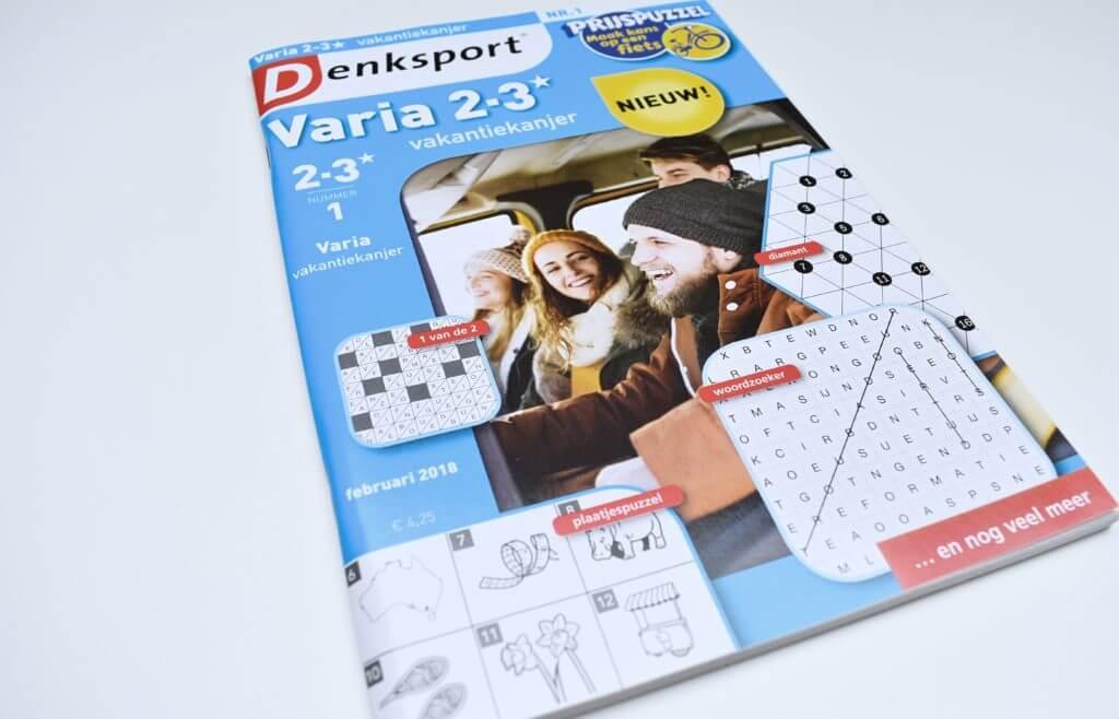 twee puzzelpakketten van Denksport